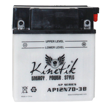 Power Sport Conventional - 12N7D-3B - 12 Volts 7 Amp Hrs | Battery Specialist Canada