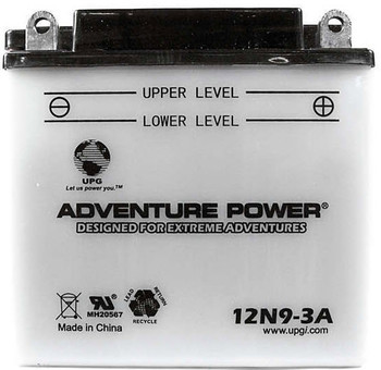 Power Sport Conventional - 12N9-3A - 12 Volts 9 Amp Hrs | Battery Specialist Canada
