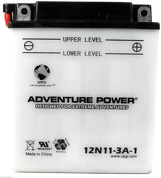 Power Sport Conventional - 12N11-3A-1 - 12 Volts 11 Amp Hrs | Battery Specialist Canada