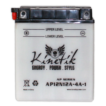 Power Sport Conventional - 12N12A-4A-1 - 12 Volts 12 Amp Hrs | Battery Specialist Canada