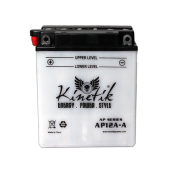 Power Sport Conventional - YB12A-A - 12-Volts 12-Amp Hrs | Battery Specialist Canada