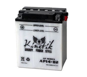 Power Sport Conventional - YB14-B2 - 12 Volts 14 Amp Hrs | Battery Specialist Canada