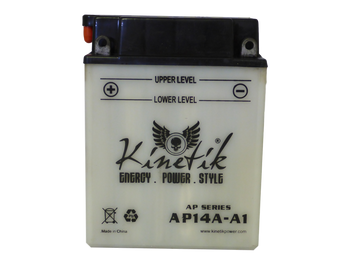 YB14A-A1 Power Sport Battery - 12 Volts 14 Amp Hrs | Battery Specialist Canada