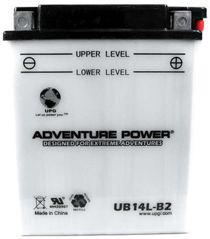 Power Sport Conventional - YB14L-B2 - 12 Volts 14 Amp Hrs | Battery Specialist Canada