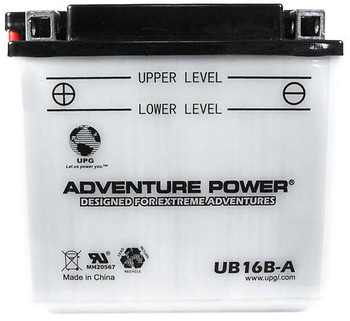 Power Sport Conventional - YB16B-A - 12 Volts 16 Amp Hrs | Battery Specialist Canada