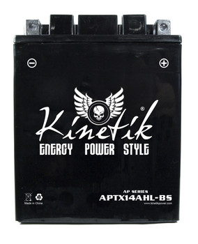 Power Sport Dry Charge AGM - YTX14AHL-BS - 12-Volts 12-Amp Hrs   Battery Specialist Canada