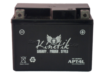 Power Sport Sealed AGM - YTX4L-BS - 12-Volts 3-Amp Hrs | Battery Specialist Canada