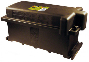 Group GC2 - Dual 6V Battery Box - End to End - Black | Battery Specialist Canada