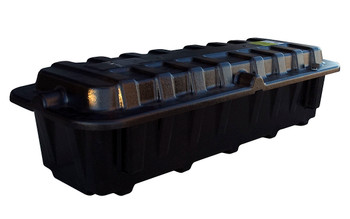 Group 8D Battery Box - End To End - Black | Battery Specialist Canada