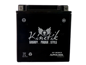 Power Sport Sealed AGM - YIX30L - 12-Volts 30-Amp Hrs - D Terminal | Battery Specialist Canada