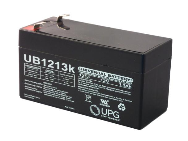 12 Volts 1.3Ah -Terminal F1 - SLA/AGM Battery - UB1213 | Battery Specialist Canada
