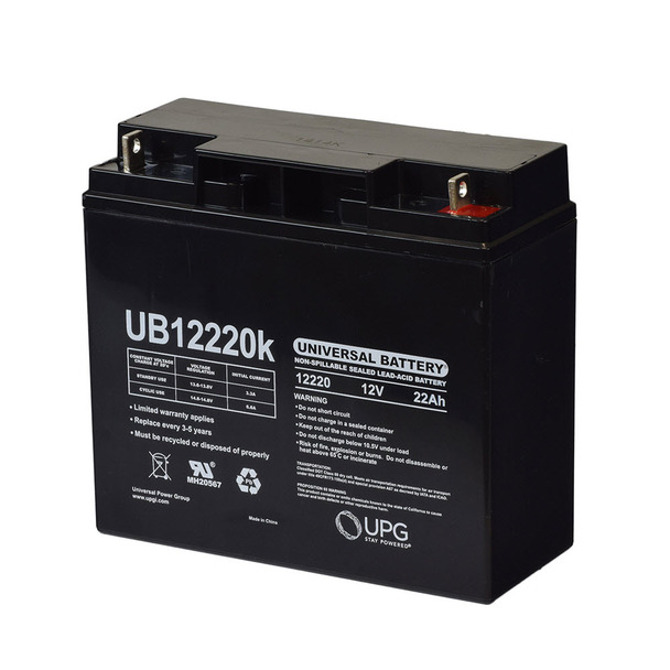 12 Volts 22Ah -Terminal T4 - SLA/AGM Battery - UB12220 | Battery Specialist Canada
