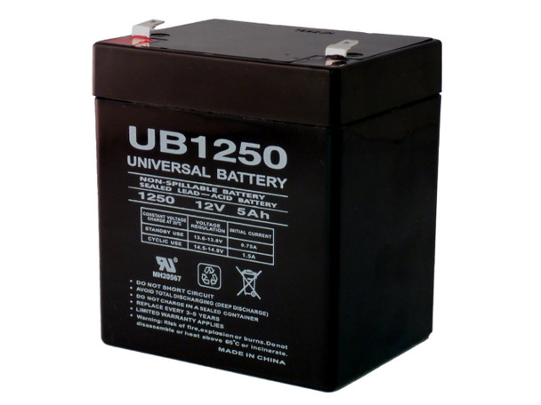 New 12V 5AH Battery for UB1250 D5741 Home Security Alarm w//FREE SHIPPING!