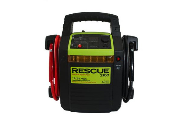 Rescue 2100 12/24 V Dual Voltage Power Pack Front | Battery Specialist Canada