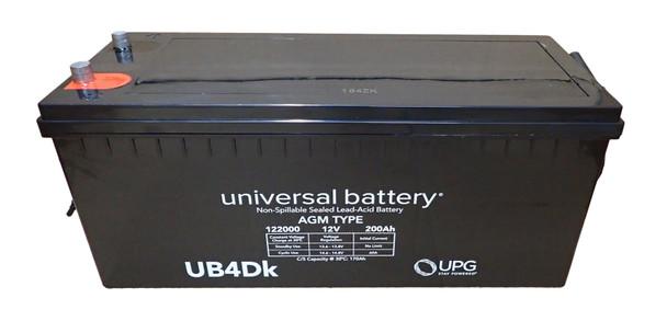 12 Volts 200Ah -Terminal Auto Post - SLA/AGM Battery  | Battery Specialist Canada