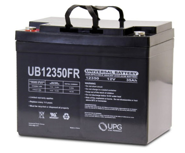 Flame Retardant SLA/AGM Battery - UB12350FR -12 Volts 35Ah -Terminal I2| Battery Specialist Canada
