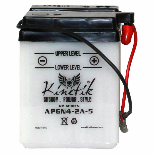 AP6N4-2A-5 - Power Sport High Performance Battery - 6 Volts 4Ah - 41509 | Battery Specialist Canada