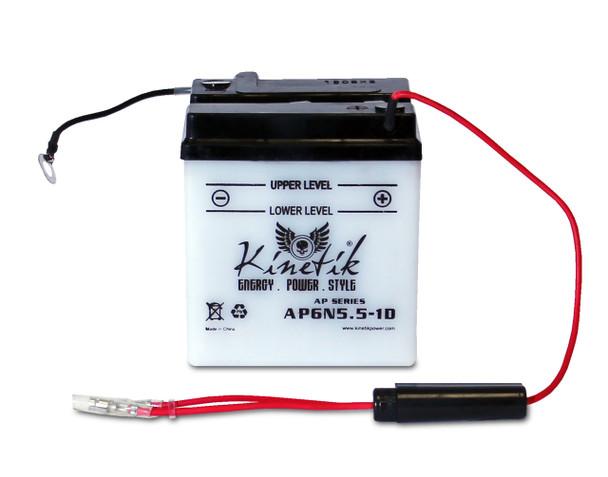 AP6N5.5-1D - Power Sport High Performance Battery - 6 Volts 5.5Ah - 41517 | Battery Specialist Canada