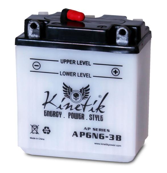 AP6N6-3B - Power Sport High Performance Battery - 6 Volts 6Ah - 41520   Battery Specialist Canada