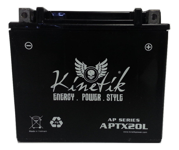 GYZ20L Ready to Install & Charged AGM Battery - 12 Volts 18 Amp Hrs  | Battery Specialist Canada