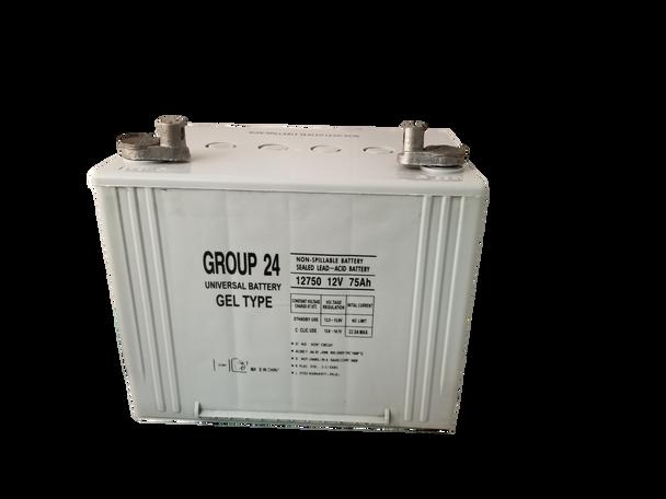 A824 - Gel Wheelchair Battery - 12V 75Ah - Grey Case | Battery Specialist Canada