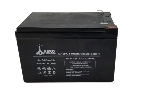 Lithium Ion Battery - 12V 12Ah - With Protective Circuit Board - BSL12120   Battery Specialist Canada
