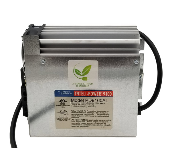 PD9160AL – 60 Amp Inteli-Power Lithium Ion Battery Converter - Charger | Battery Specialist Canada