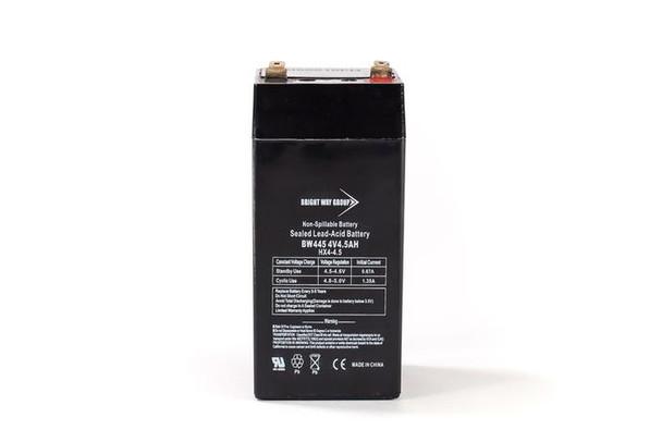 BW445 - 4 Volts 4.5Ah -Terminal F1 -SLA/AGM Battery - HX4-4.5 | Battery Specialist Canada