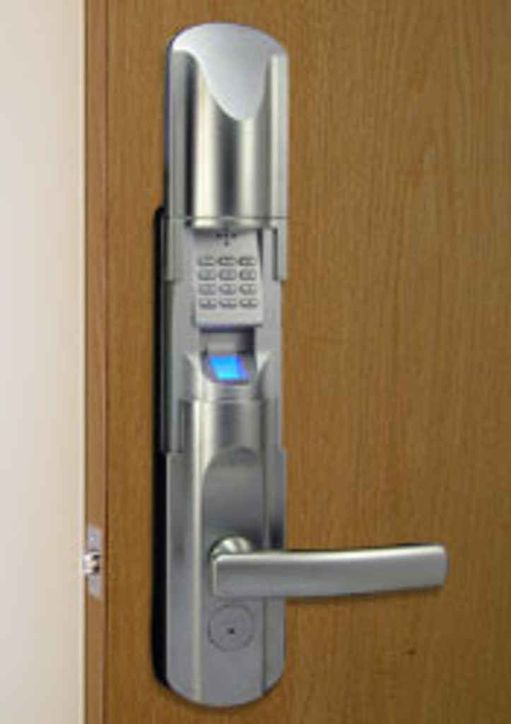 Satin Nickel Front Lock Body with Single Latch