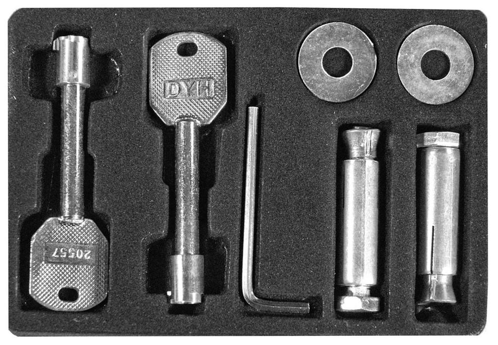 Barska AX11224 Keys