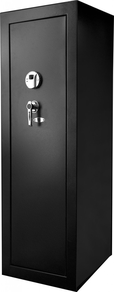 Large gun safe from outside.