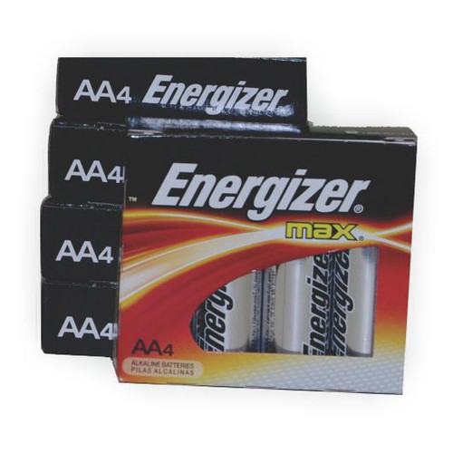 AA Energizer Batteries for Biometric Door Locks