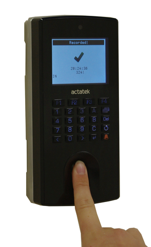 ACTAtek with Fingerprint Access