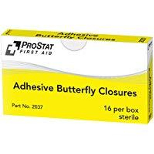 Adhesive Butterfly Closures - 16 Per Unit