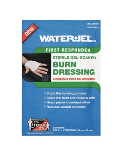 Water Jel Brand Burn Dressing