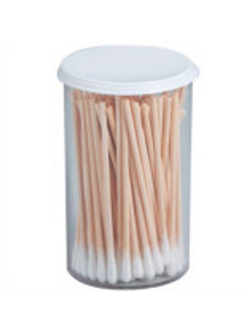 "Cotton tipped applicator, 3"", non-sterile, 100 per vial"