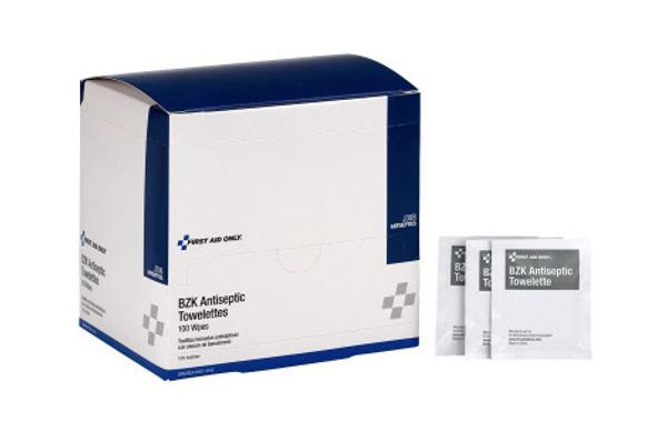 Antiseptic Cleansing Wipe, Sting Free - 100 per box
