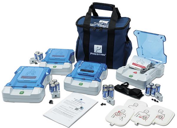 Prestan Professional AED Trainer 4-Pack