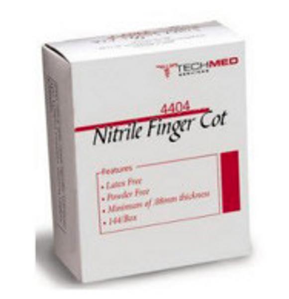 Latex Free Finger Cots - Large, Bag of 144 -TEC4404L