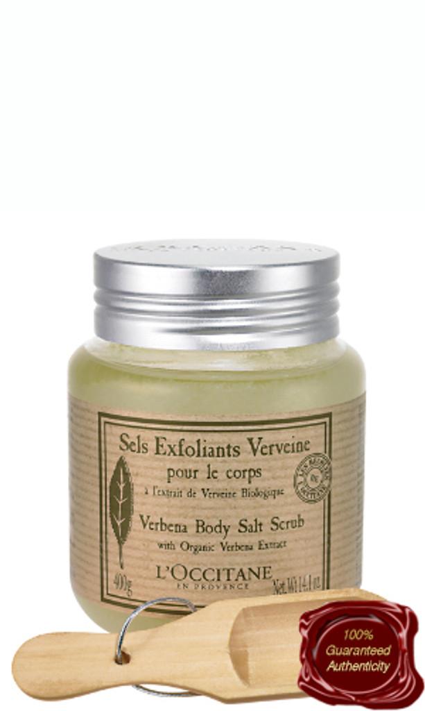 L'Occitane   Verbena Body Salt Scrub