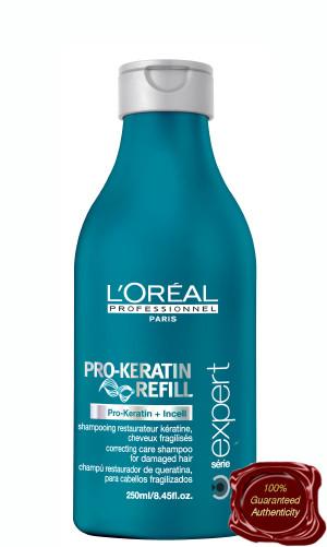 loreal keratin shampoo and conditioner reviews