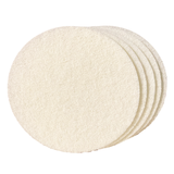 "11"" WHITE FINISHING PAD 5-PACK"