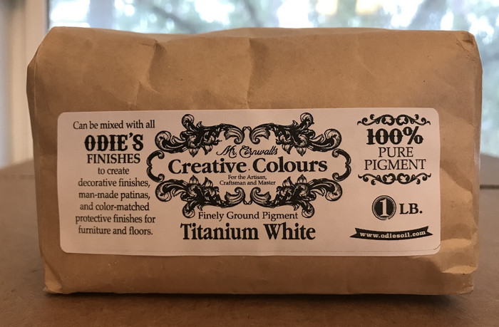 Mr. Cornwall's Creative Colours Titanium White 1 lb. bag
