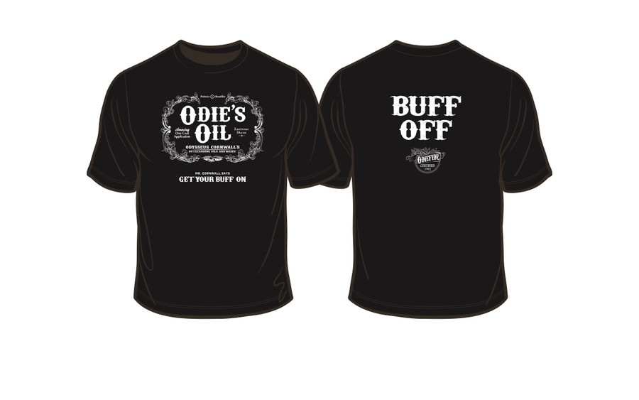 Odie's Oil Buff Off T-shirt