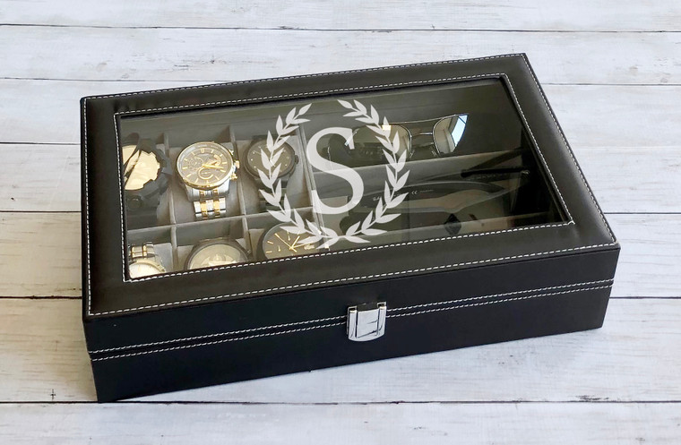 Personalized Watch Box for Groomsmen