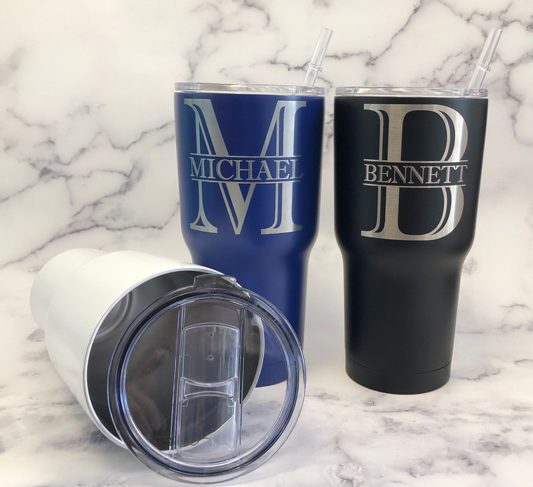 Engraved Stainless Steel Tumblers