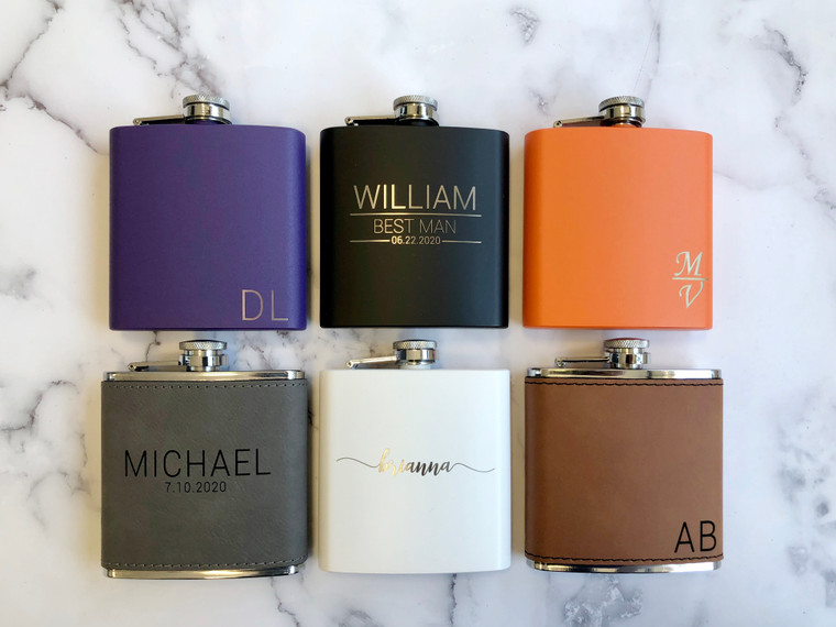 Personalized Flask For Men