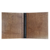 Riveted Baltic Birch Wood Three Ring Binder Interior