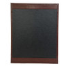 Bonded Leather Menu Board with Strips