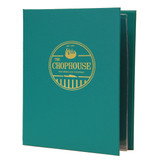 Summit Linen Spiral Menu Covers